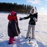 Лиза о поездке в Карелию зимой 2015!!!